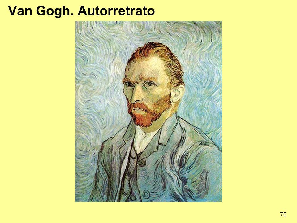 70 Van Gogh. Autorretrato