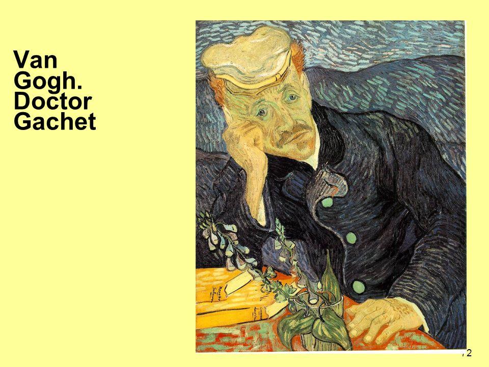 72 Van Gogh. Doctor Gachet