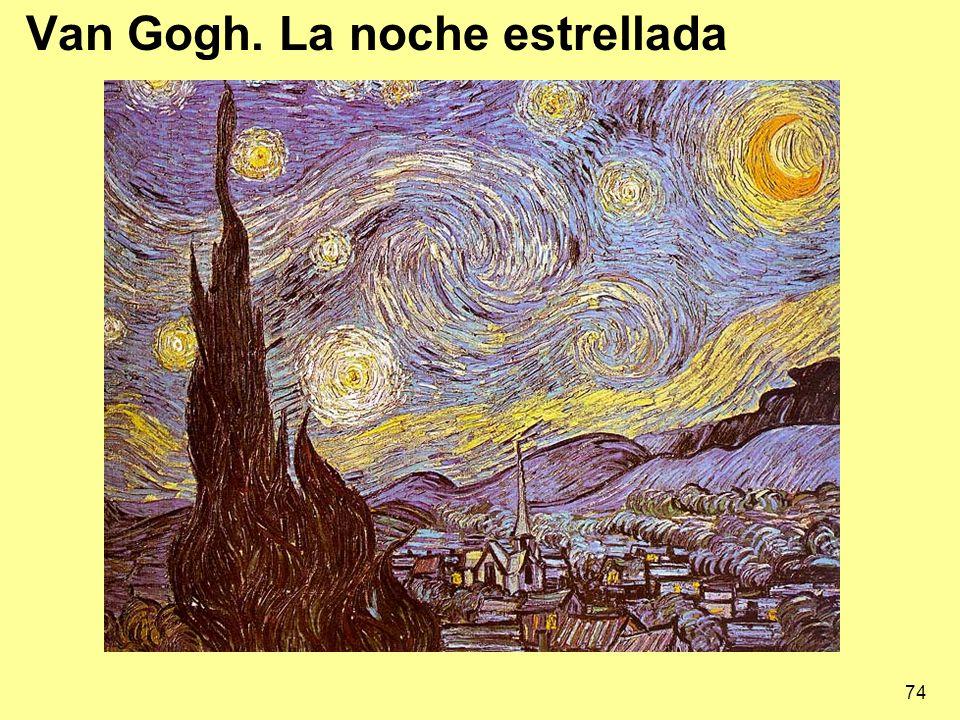 74 Van Gogh. La noche estrellada