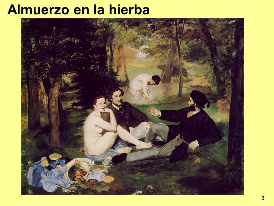 39 DEGAS 1843-1917 De familia rica se unió pronto a los impresionistas.