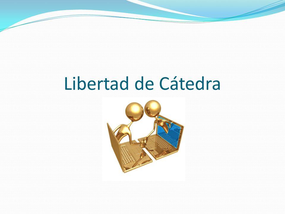 Libertad de Cátedra