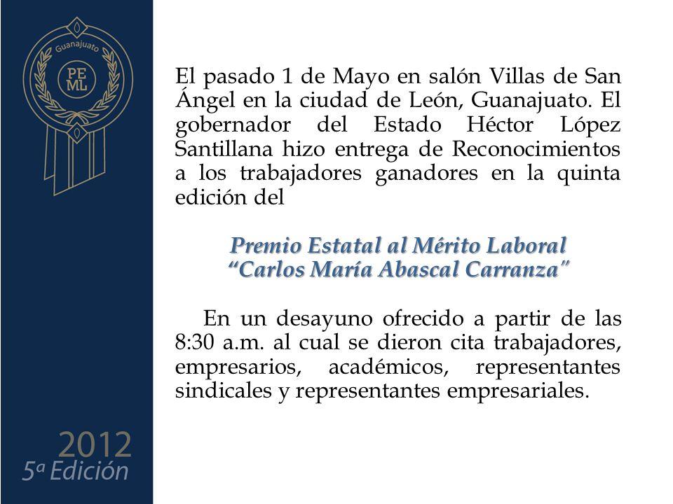 El pasado 1 de Mayo en salón Villas de San Ángel en la ciudad de León, Guanajuato.