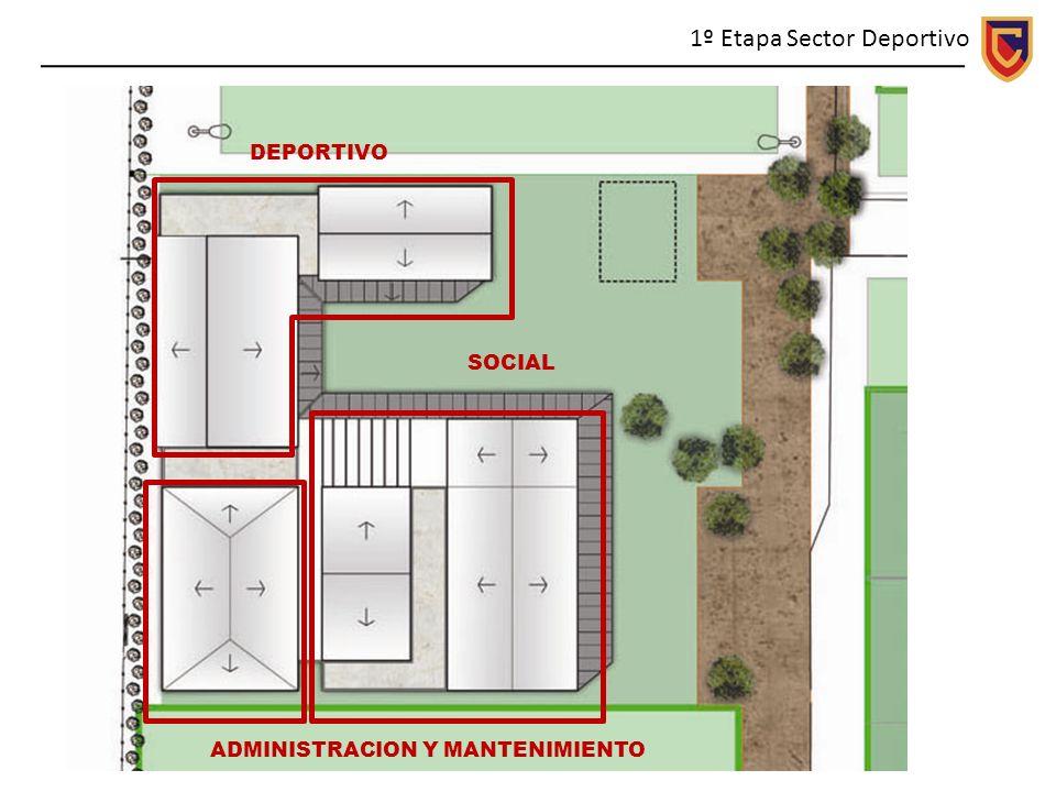 1º Etapa Sector Deportivo DEPORTIVO ADMINISTRACION Y MANTENIMIENTO SOCIAL