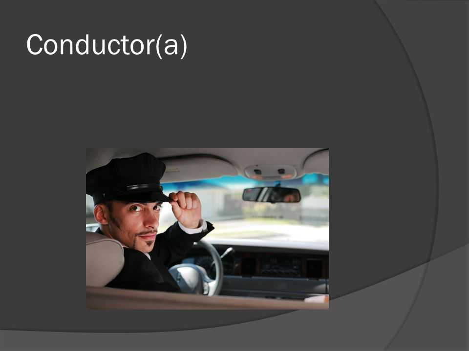 Conductor(a)