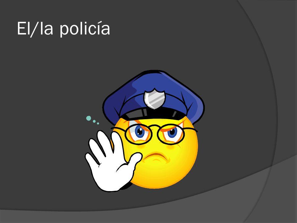 El/la policía