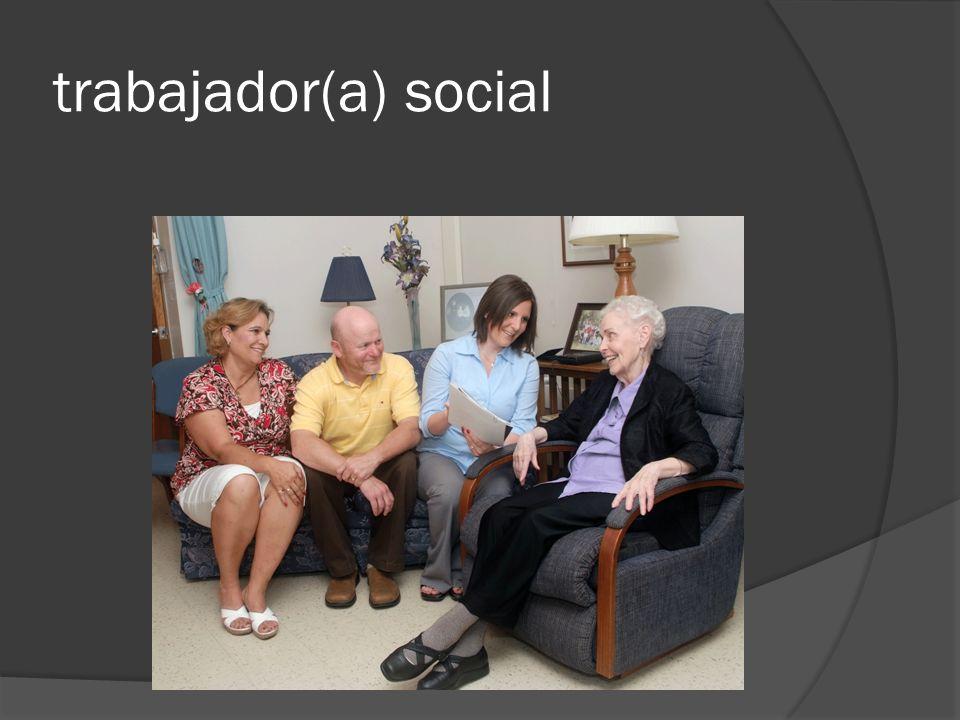 trabajador(a) social
