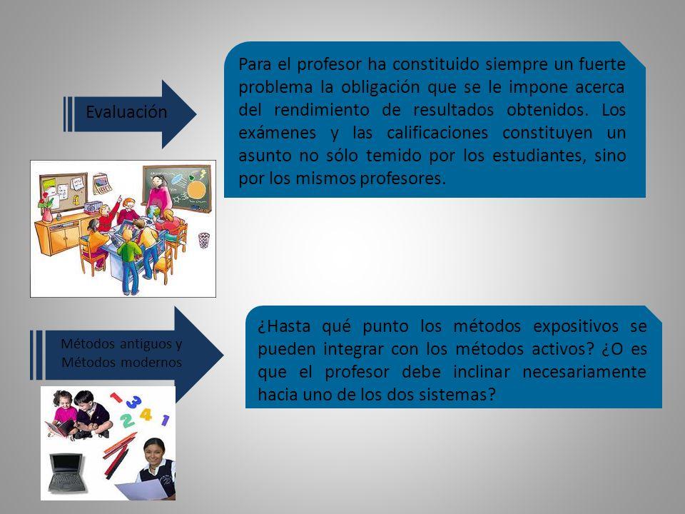 ¿Hasta qué punto los métodos expositivos se pueden integrar con los métodos activos.