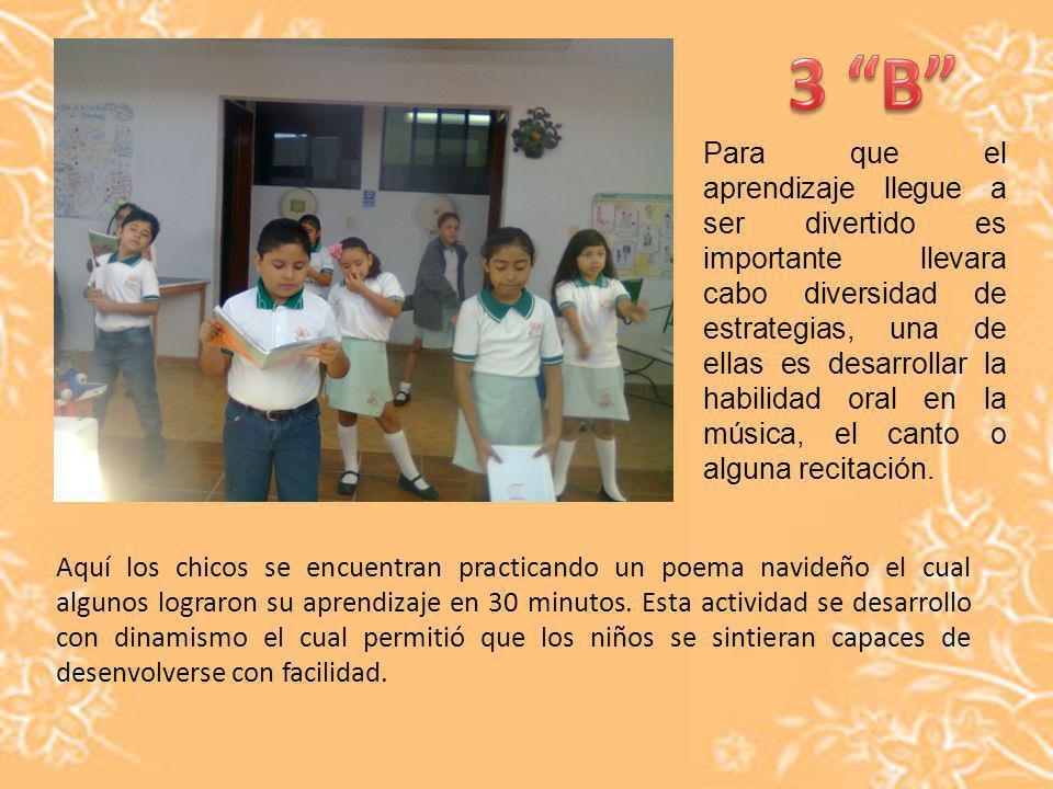 Para que el aprendizaje llegue a ser divertido es importante llevara cabo diversidad de estrategias, una de ellas es desarrollar la habilidad oral en la música, el canto o alguna recitación.