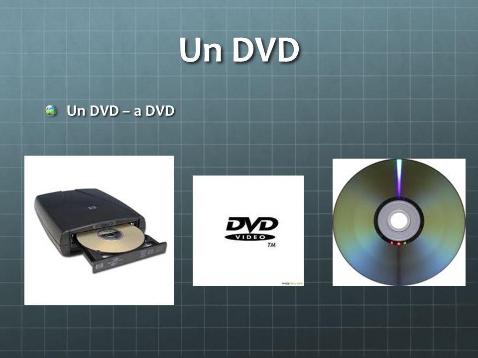 Un DVD Un DVD – a DVD