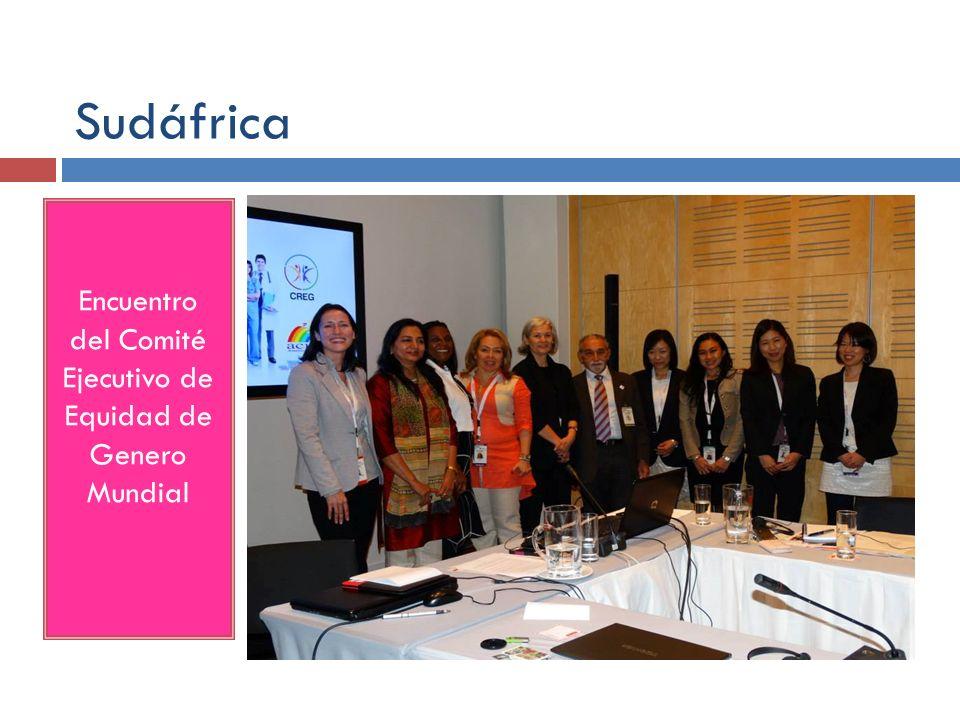 Sudáfrica Encuentro del Comité Ejecutivo de Equidad de Genero Mundial