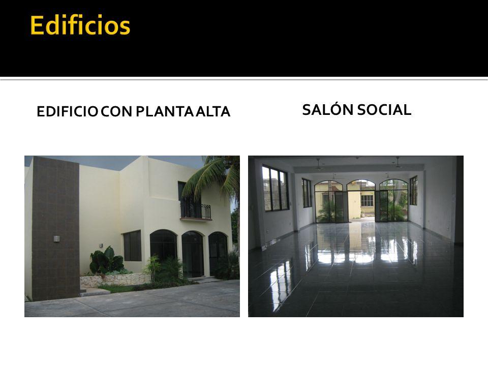 EDIFICIO CON PLANTA ALTA SALÓN SOCIAL