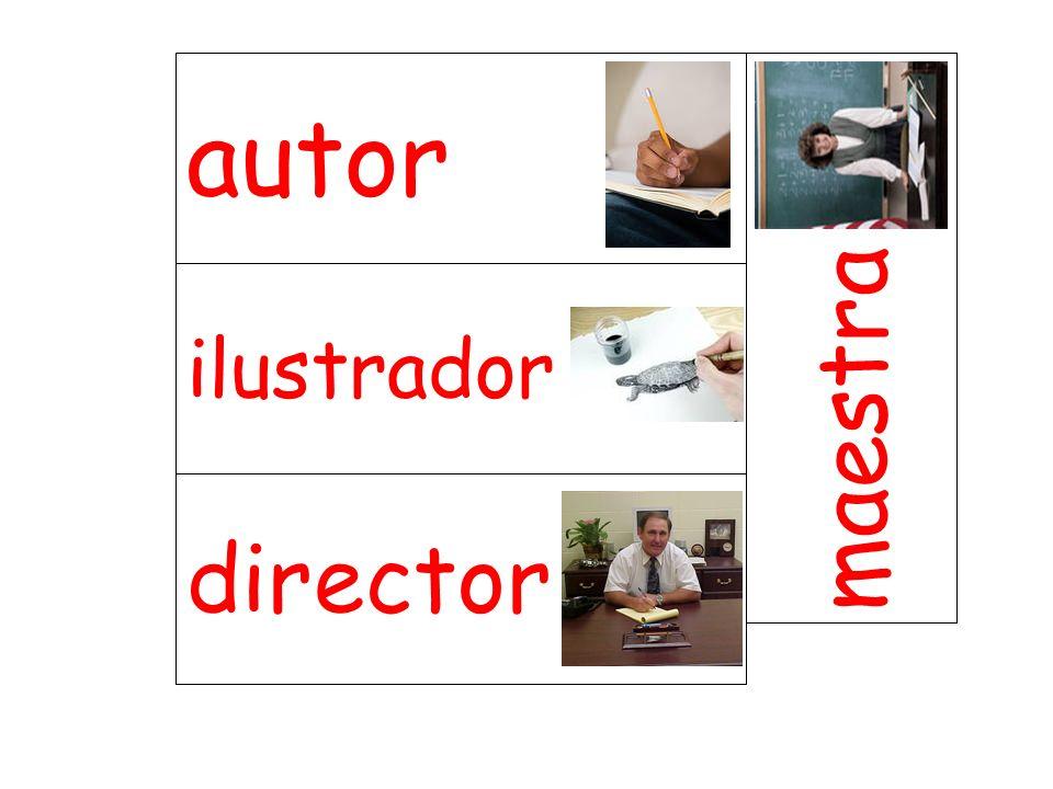 ilustrador maestra director autor