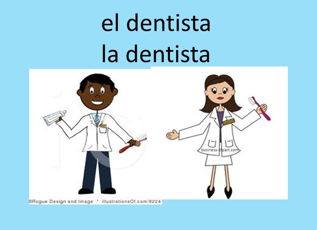 business-clipart.com el dentista la dentista