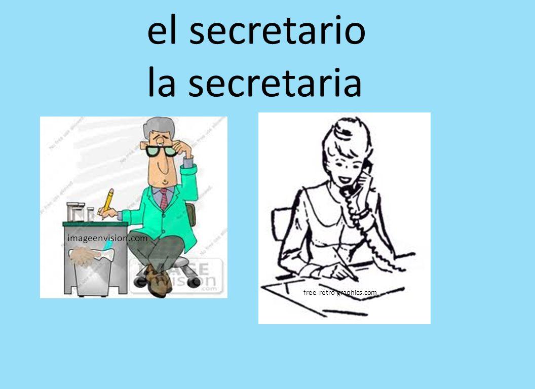imageenvision.com free-retro-graphics.com el secretario la secretaria