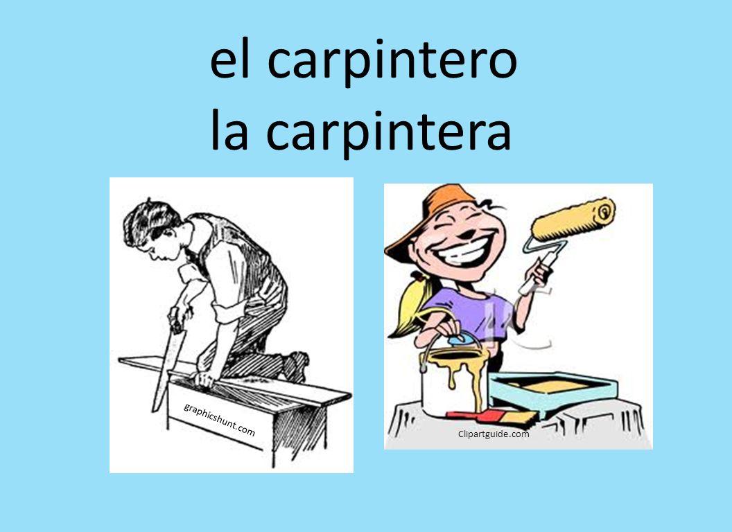 graphicshunt.com Clipartguide.com el carpintero la carpintera