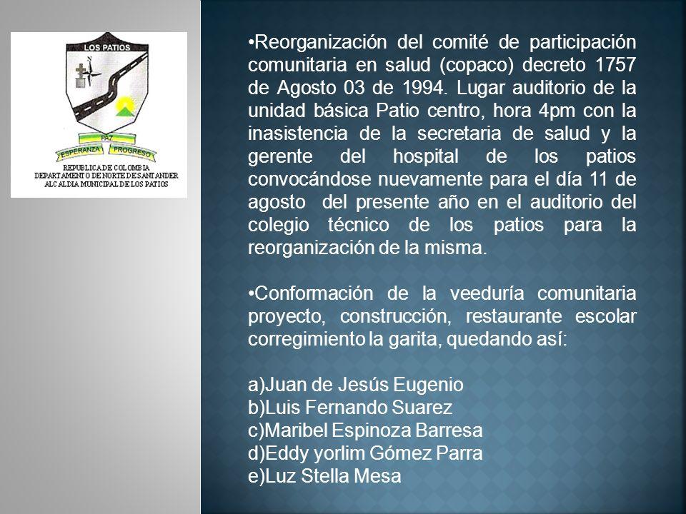 SECRETARIA DE GOBIERNO SEGUNDO TRIMESTRE DE 2010