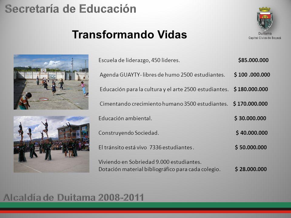 Transformando Vidas Escuela de liderazgo, 450 lideres.