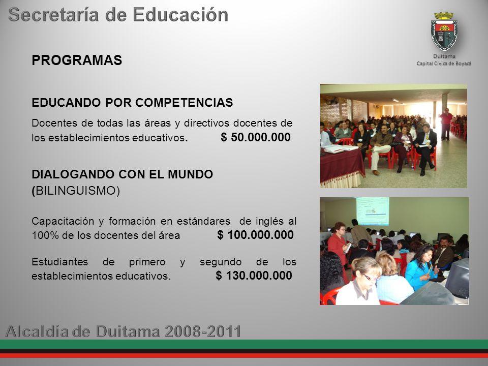 EDUCANDO POR COMPETENCIAS Docentes de todas las áreas y directivos docentes de los establecimientos educativos.