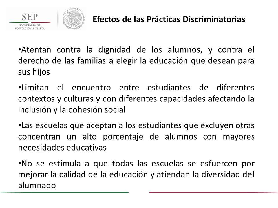 Atentan contra la dignidad de los alumnos, y contra el derecho de las familias a elegir la educación que desean para sus hijos Limitan el encuentro en