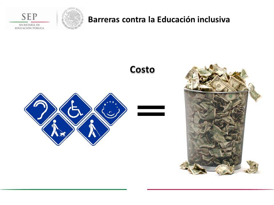 Costo Barreras contra la Educación inclusiva