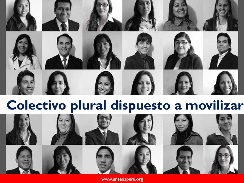www.ensenaperu.org Colectivo plural dispuesto a movilizar