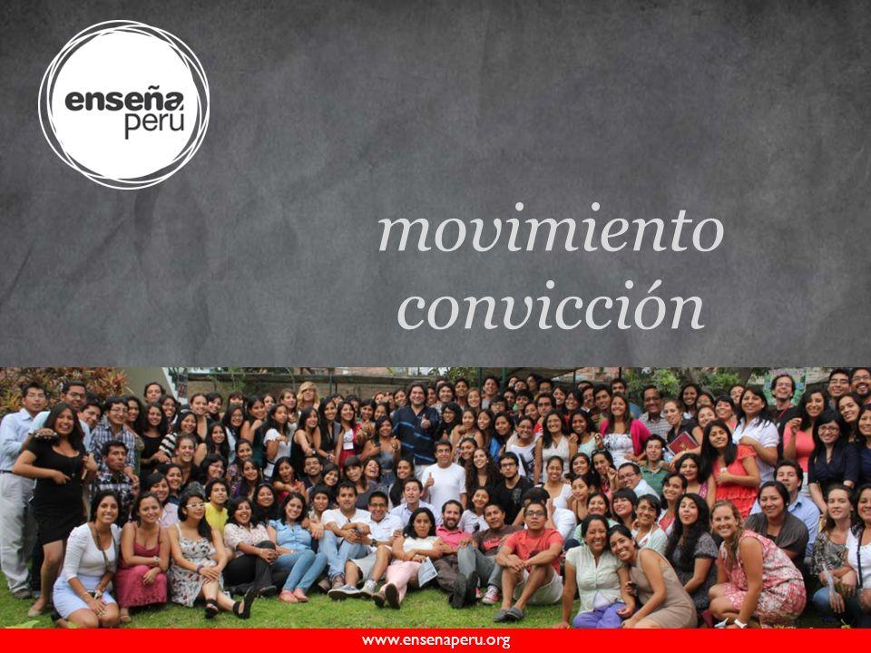 www.ensenaperu.org movimiento convicción