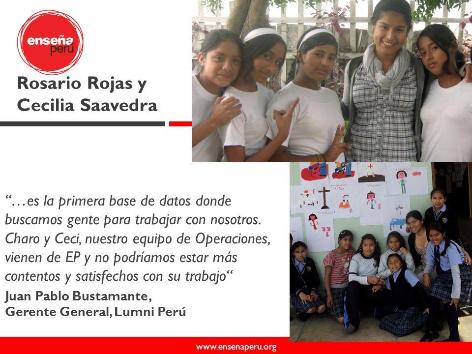 www.ensenaperu.org 50 112 70 6 24 62 40 65 14 38 +480 miembros del movimiento