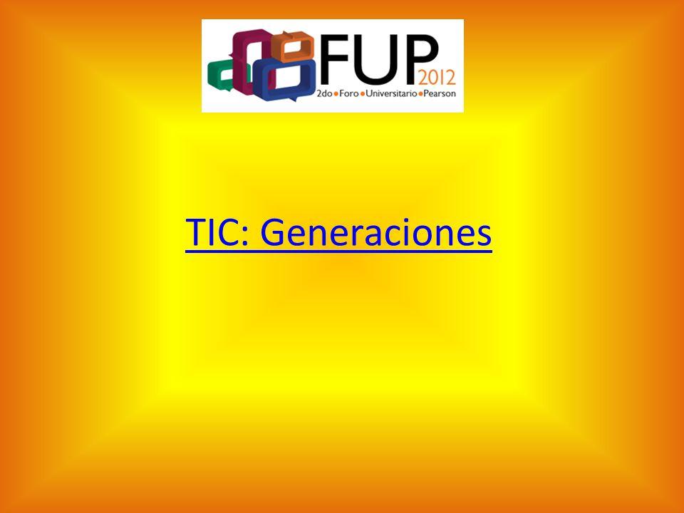 TIC: Generaciones