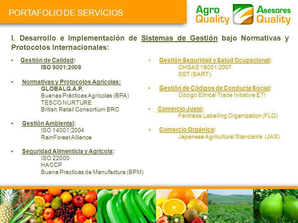 I. Desarrollo e Implementación de Sistemas de Gestión bajo Normativas y Protocolos Internacionales: Gestión de Calidad: ISO 9001:2008 Normativas y Pro