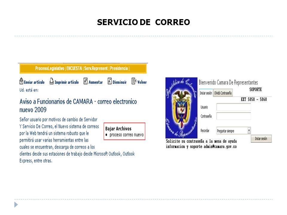 SERVICIO DE CORREO