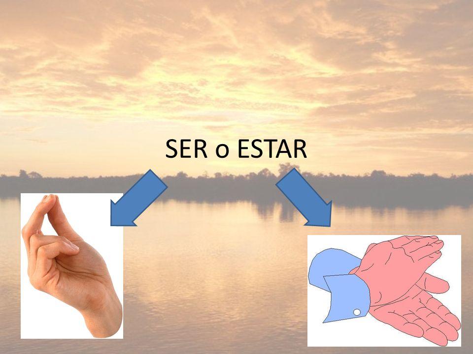 SER o ESTAR