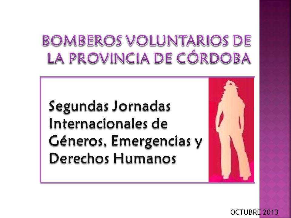 Segundas Jornadas Internacionales de Géneros, Emergencias y Derechos Humanos OCTUBRE 2013
