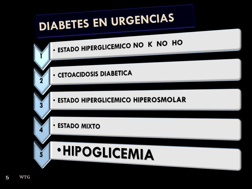 5 DIABETES EN URGENCIAS
