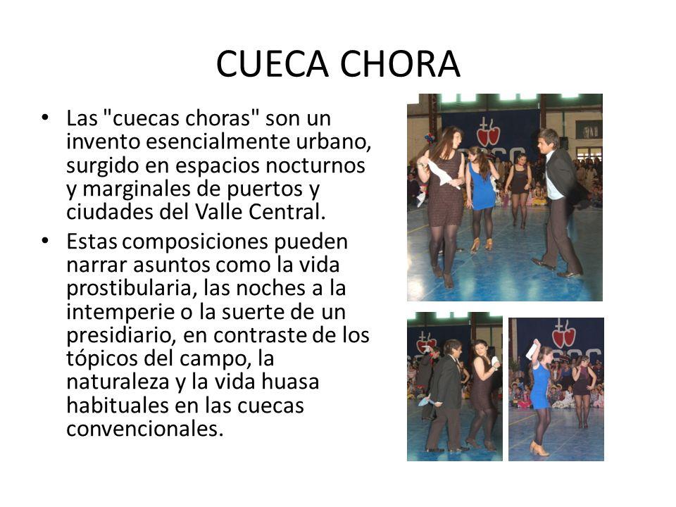 CUECA CHORA Las