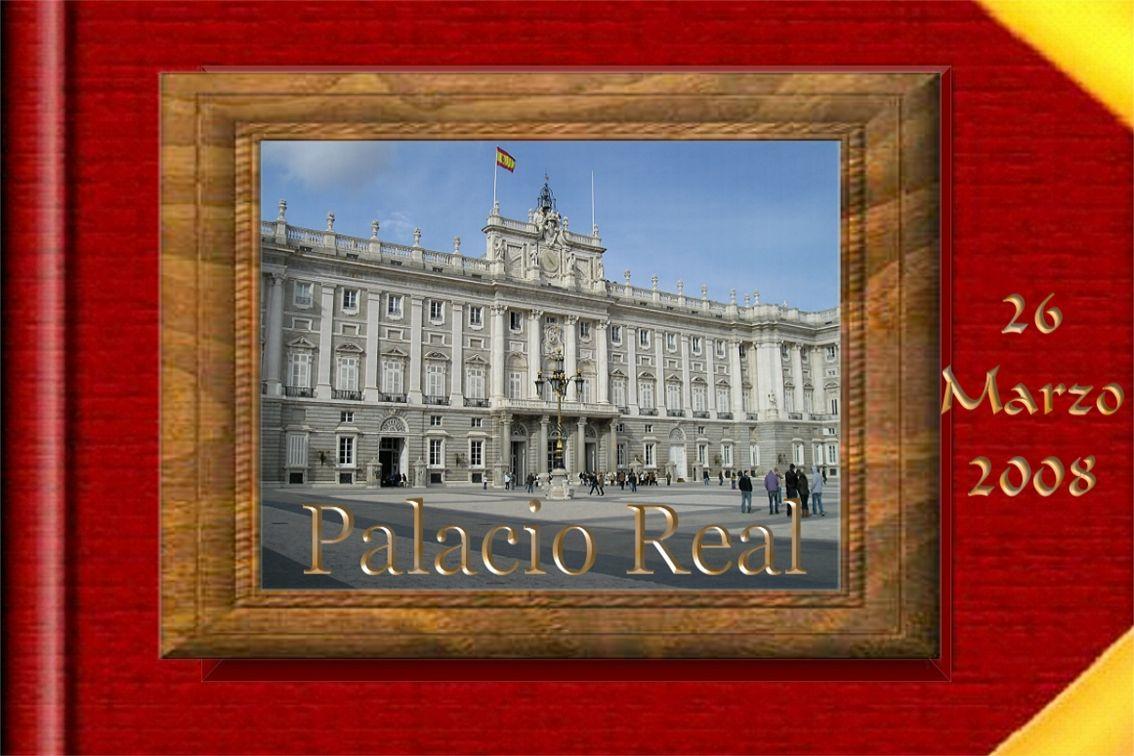 El Palacio Real de Madrid 1738 El Palacio Real de Madrid, Se comenzó a construir en 1738 según planos de los arquitectos Filippo Juvara y de su discípulo Juan Bautista Sachetti, aunque a las órdenes de éste último también participaron otros como Ventura Rodríguez y Francesco Sabatini.