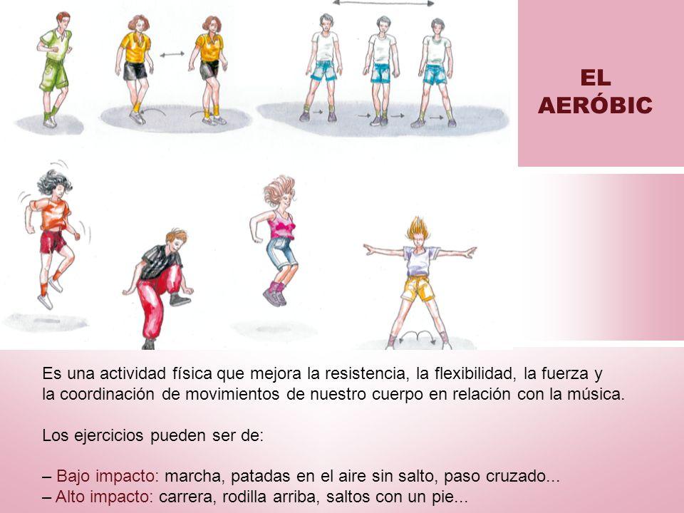Es una actividad física que mejora la resistencia, la flexibilidad, la fuerza y la coordinación de movimientos de nuestro cuerpo en relación con la mú