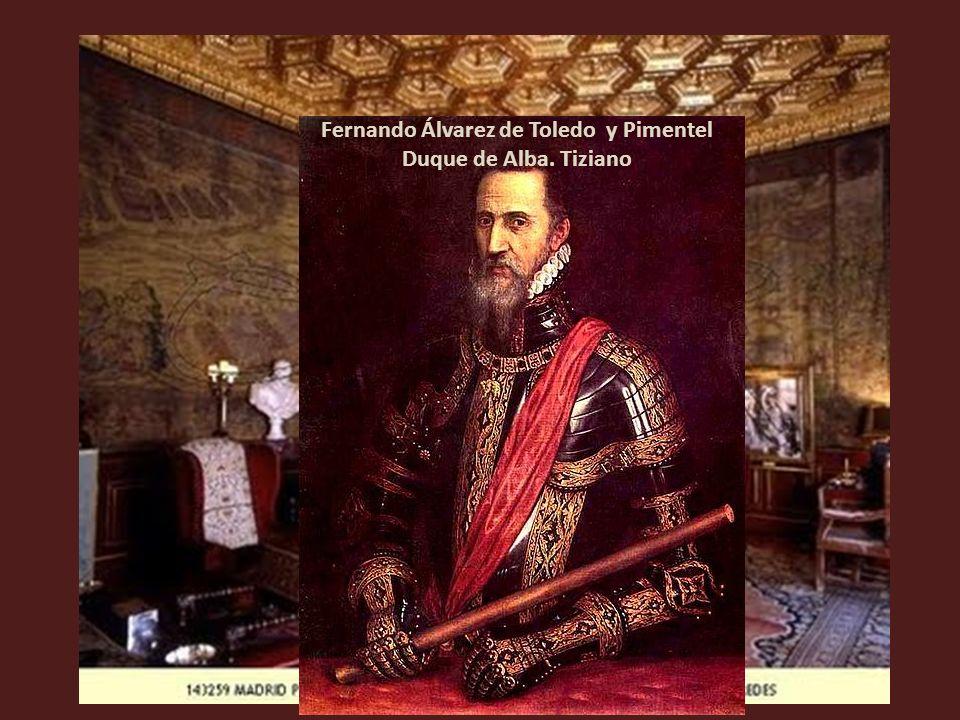 Carlos V y la Emperatriz Isabel. Rubens. Copia de un Tiziano perdido (En el Salón Flamenco)