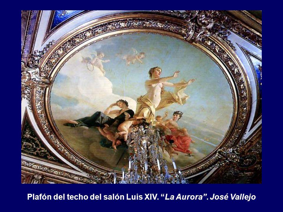 Plafón del techo del salón de actos. El ducado de Santoña. Francisco Sanz