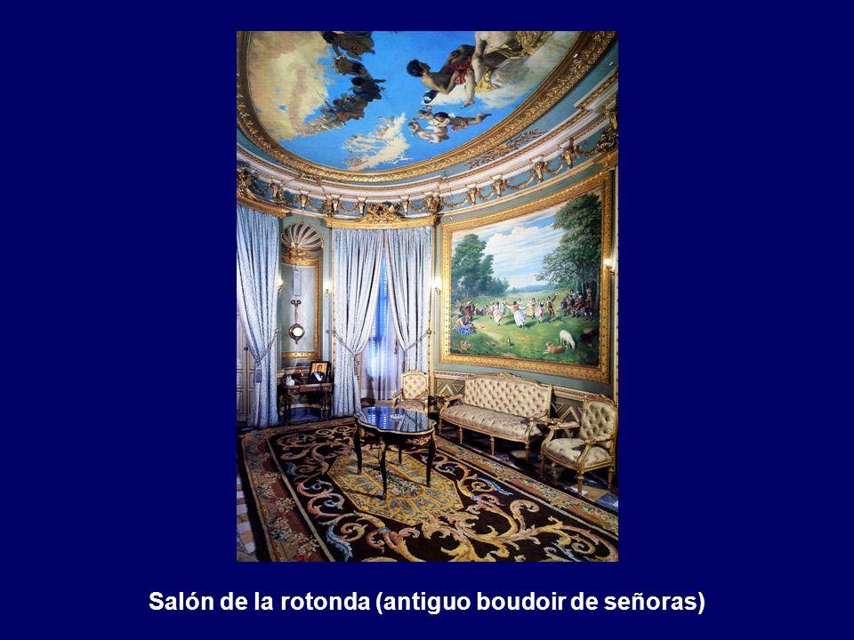 Plafón del techo del salón pompeyano. Las Artes Plásticas. Manuel Domín- guez