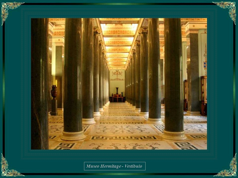 Biblioteca de Nicolás II – Detalle del interior