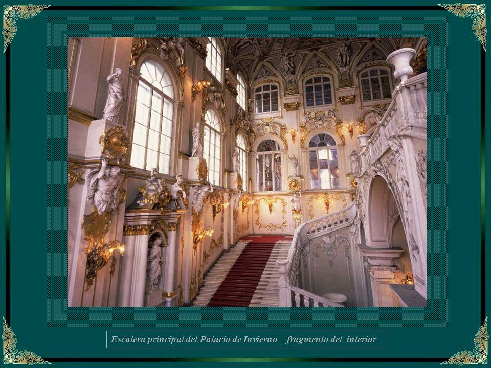 MUSEO HERMITAGE I Estructura El Museo Hermitage es la mejor galería de arte de Rusia, uno de los más destacados museos del mundo y, definitivamente, la principal atracción turística de San Petersburgo.