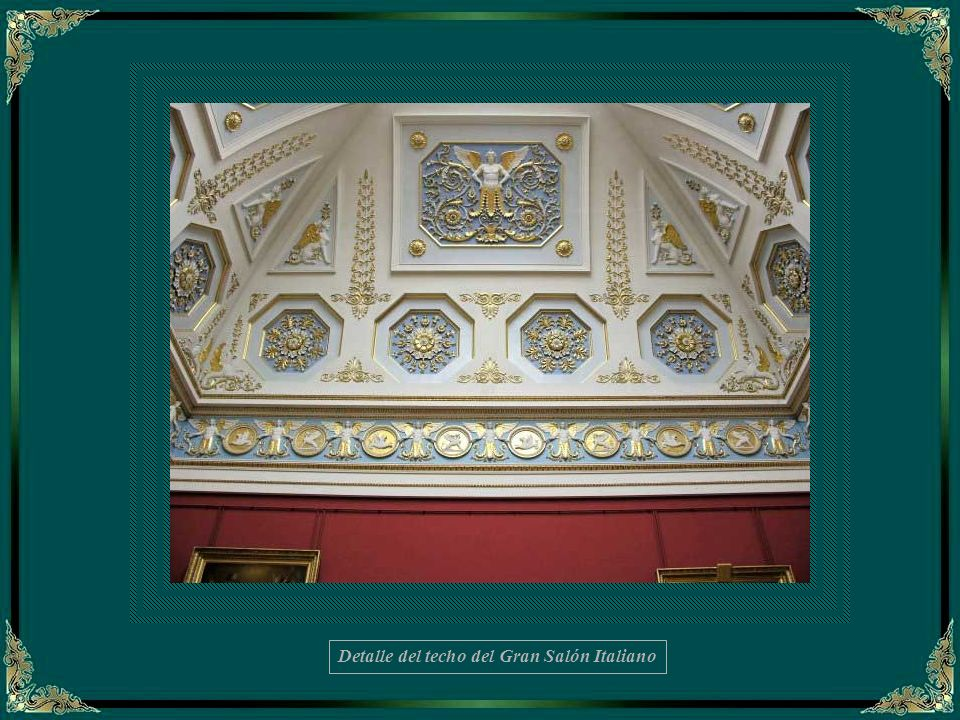 El Gran Hermitage fue construído para guardar la grandiosa colección de arte de Catalina II