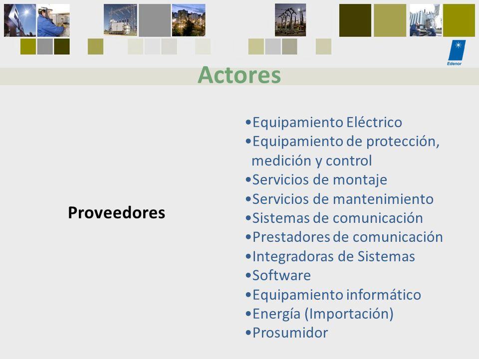 Equipamiento Eléctrico Equipamiento de protección, medición y control Servicios de montaje Servicios de mantenimiento Sistemas de comunicación Prestad