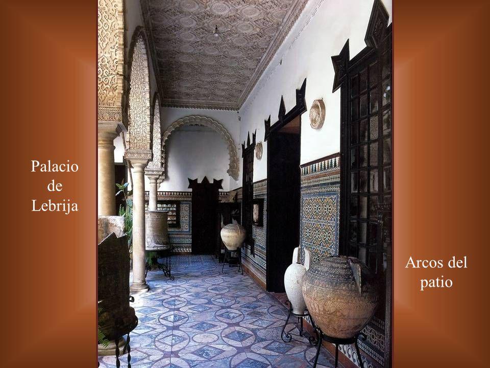 PALACIO DE LEBRIJA SEVILLA PATIO PRINCIPAL