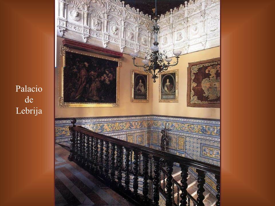 Palacio de Lebrija Escalera