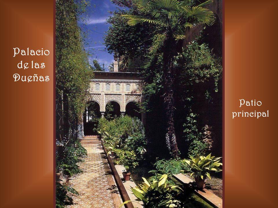 Palacio de las Dueñas Sevilla Salón de verano