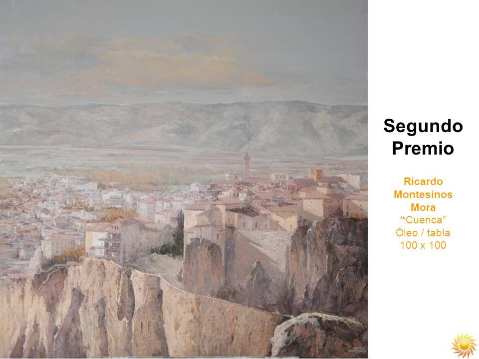 Segundo Premio Ricardo Montesinos Mora Cuenca Óleo / tabla 100 x 100