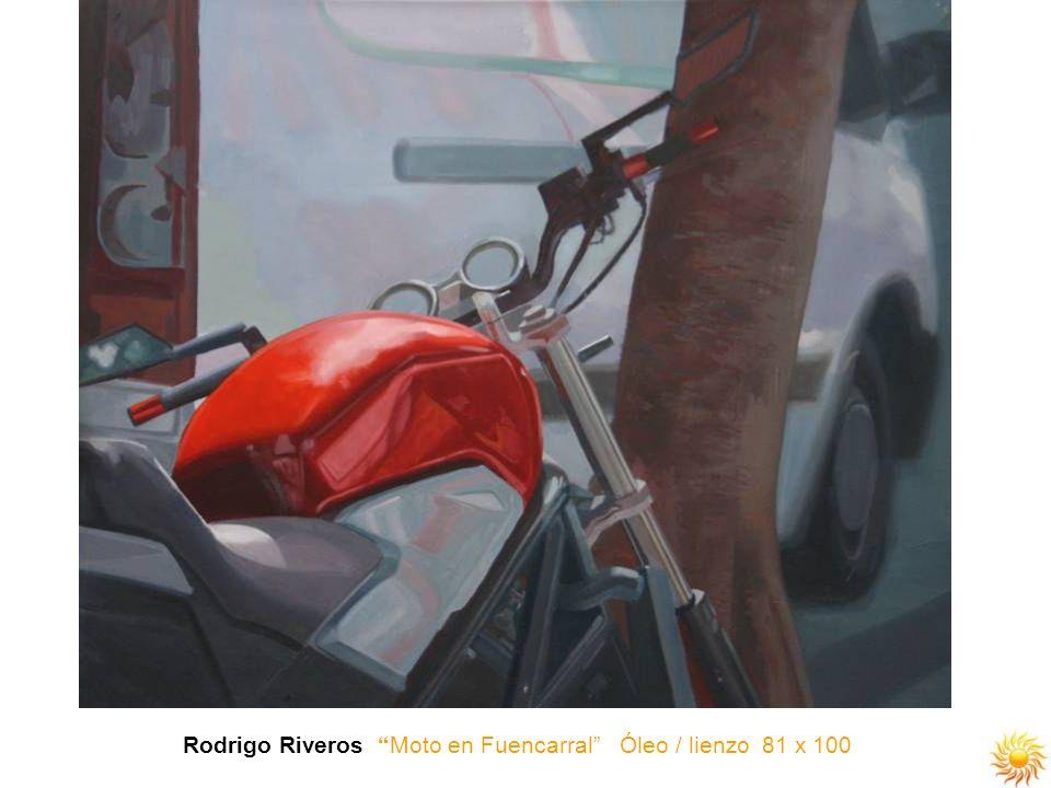 Rodrigo Riveros Moto en Fuencarral Óleo / lienzo 81 x 100