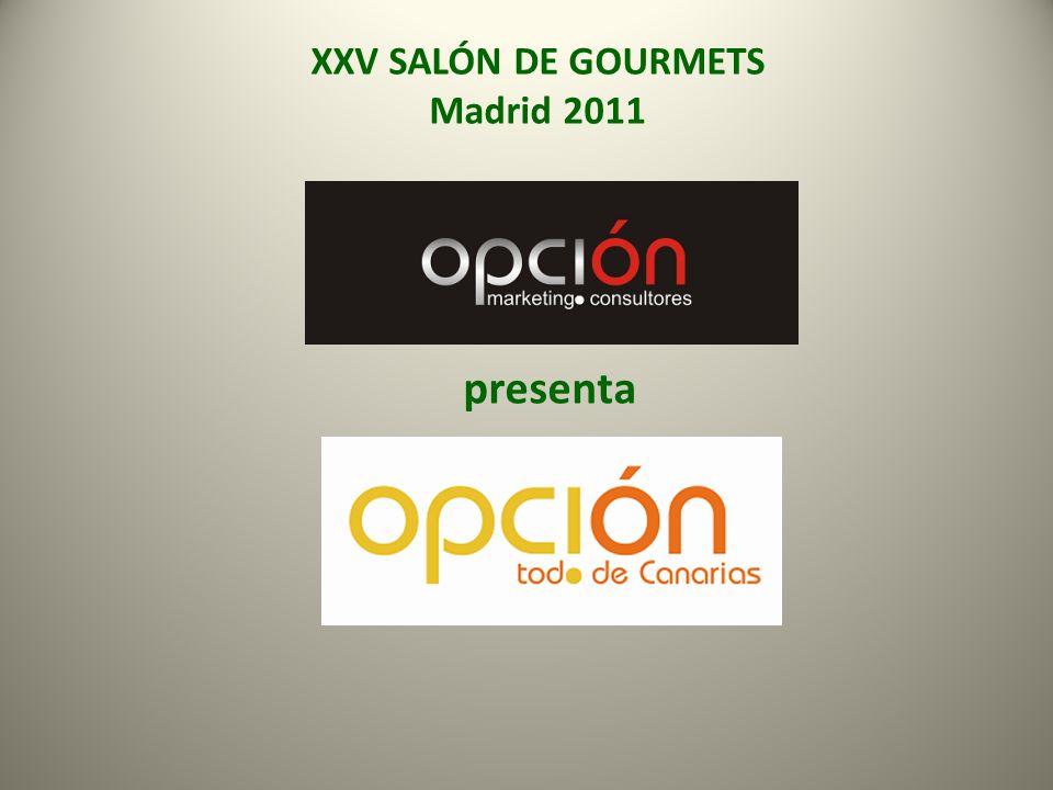 XXV SALÓN DE GOURMETS Madrid 2011 presenta