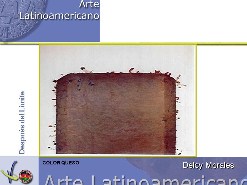 Delcy Morales Después del Límite COLOR QUESO
